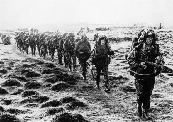 Margaret ThatcherArmy invades Falkland Islands
