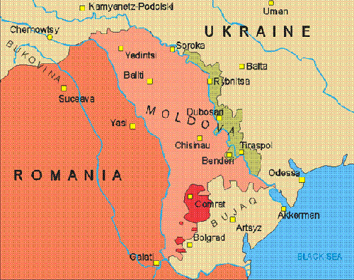 Who Has Heard Of TRANSNISTRIA BOYER WRITES - Where is russia located