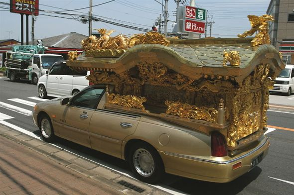 Fancy Asian Hearse