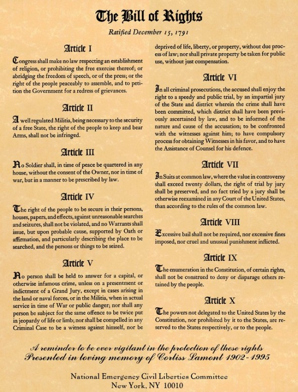 Bill-of-Rights Articles