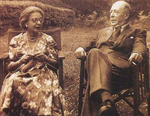 Joy and C.S. Lewis before her death