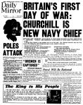 British Newspaper..August 27, 1939