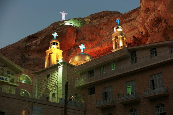 Mar Takla Christian Monastery in Syria