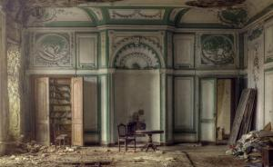 England Manor House Debris Strewn Room Andre Govia photo