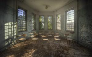 England  Old Abandoned Classroom Andre Govia photo