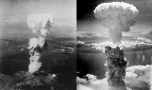 The Atomic bomb is dropped on Japan