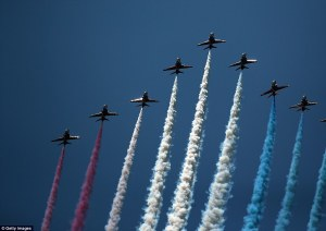 fly over in France D-Day