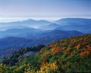 Blue Ridge Mountains of N.C. and VA