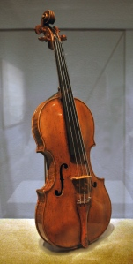 Andrea Amati Violin in the  Met Museum, NYC