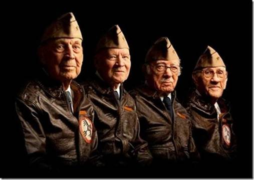 As of 2014, the remaining four Doolittle Raiders