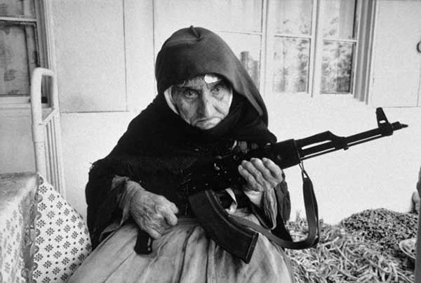 You are not a 106 year Armenian woman protecting her home with an AK 47