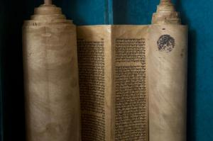 ANCIENT TORAH SCROLL 2015