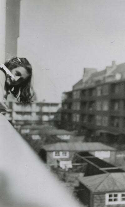 You are not hiding like Anne Frank and her family  during WWII