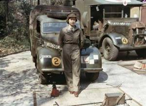 Royalty and Heads of State took up their positions to serve and lead as Queen Elizabeth in WWII