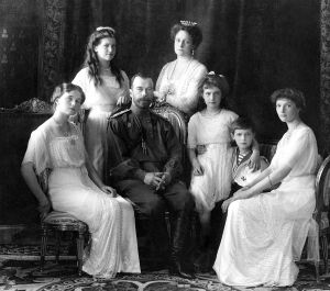 Most likely your entire family was not murdered like the Russian Romanovs shown here from left to right: Olga, Maria, Nicholas II, Alexandra, Anastasia, Alexei, and Tatiana. Pictured at Livadia Palace in 1913