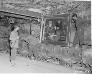 Discovering Manets painting hiden in Merker Salt Mine