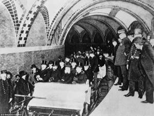 First New York subway ride 1904