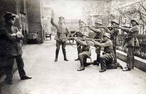 German Communist execution in Munich 1919