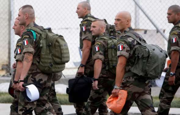 Modern Day French Foreign Legion