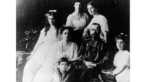 Czar Nicolas II and family