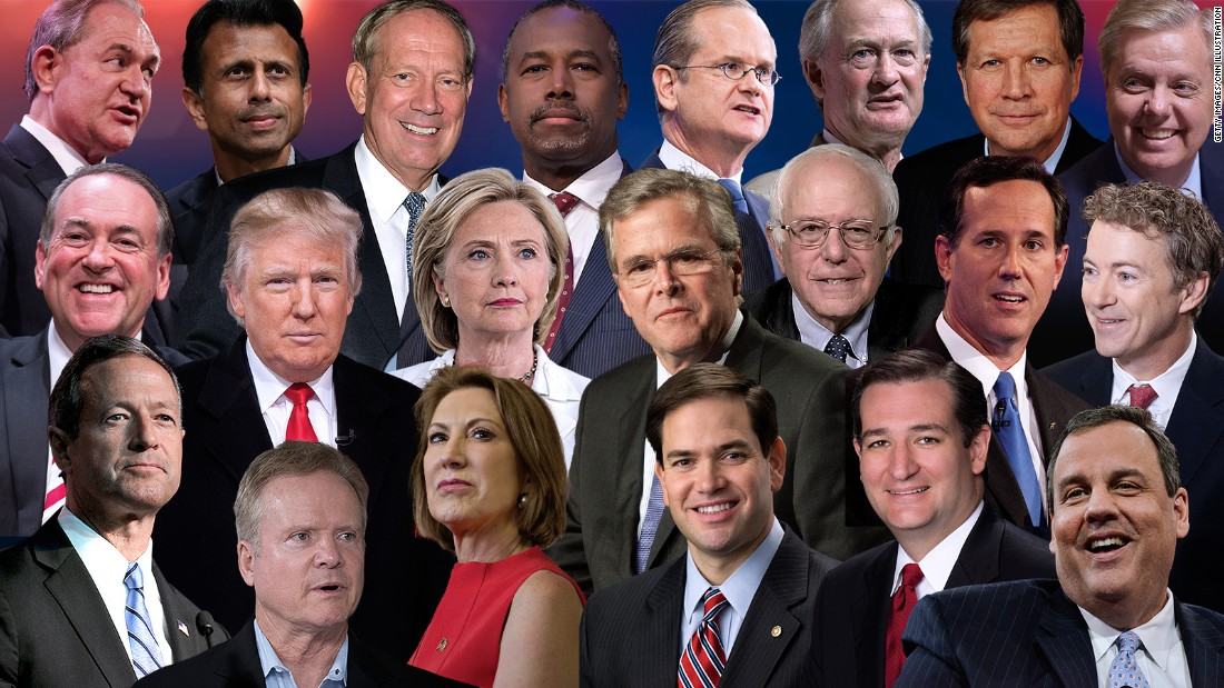 2016 political candidates
