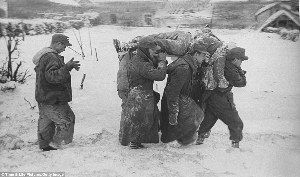 carrying Battle of the Bulge