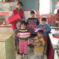 Samaritan's Purse gives Christmas gifts in Romania