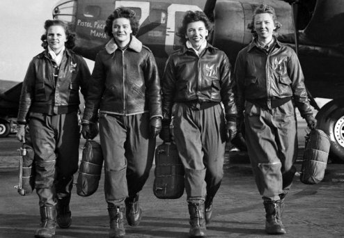WASP women flyers in WWII