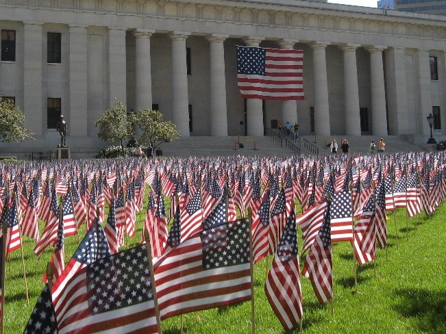 9-11 flags (2)