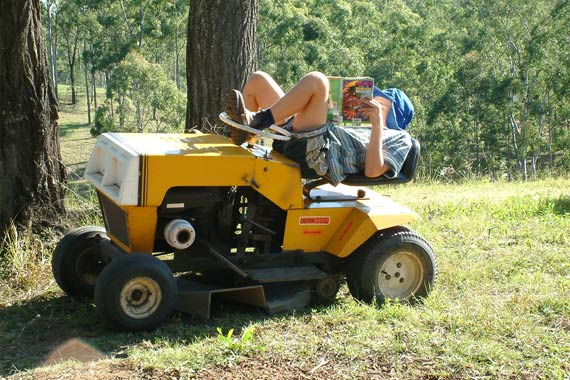 ride-on-lawn-mower