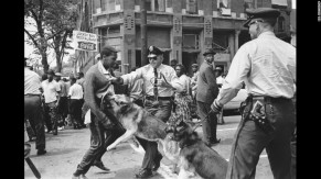 Civil Rights crowd control