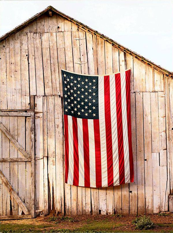 flag-on-barn