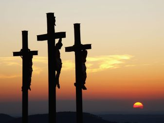 Three-Crosses-on-Kreuzberg-Mountain-Bavaria-Germany