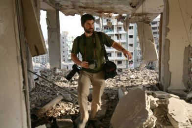 Chris Hondros in 2006 by Getty Images