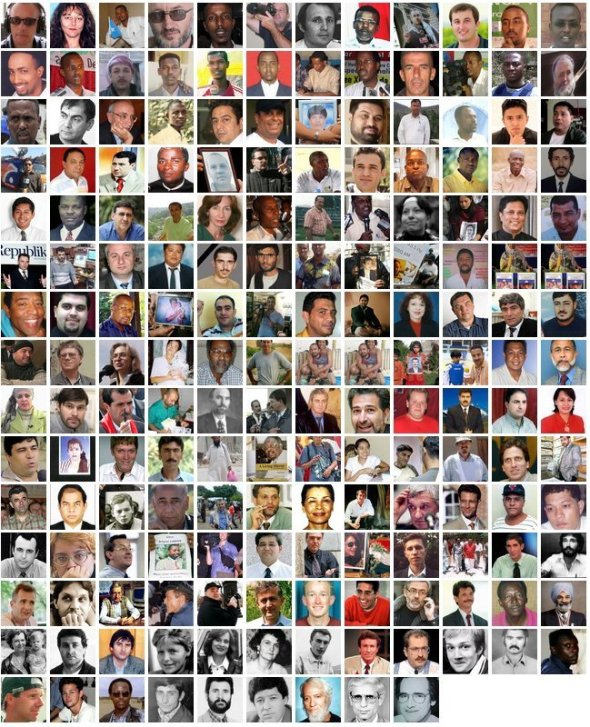 journalists killed and murdered since 1992