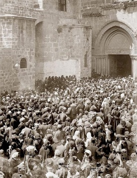 mob before pilate