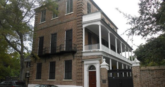 Home of Thomas Heyward in Charleston SC