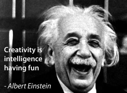 Albert Einstein and creativity