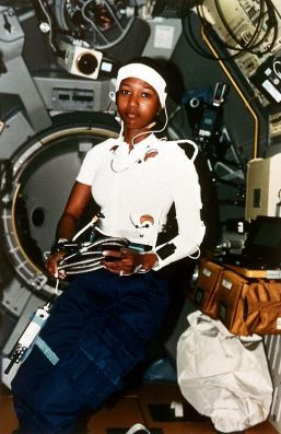 first black woman in space Mae Jemison