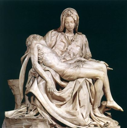 Pieta Christ and the virgin