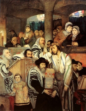Jews_Praying_on_Yom_Kippur
