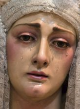 Sorrowful Mary at cross