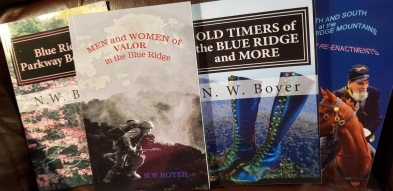 Blue Ridge Book Collection by NW Boyer
