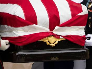 Funeral of John McCain, Washington DC, USA - 01 Sep 2018