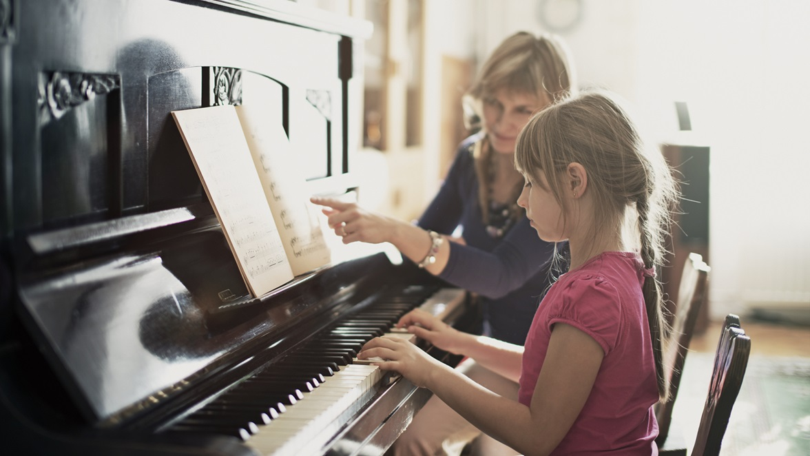 piano possibly me and Mrs Tollison