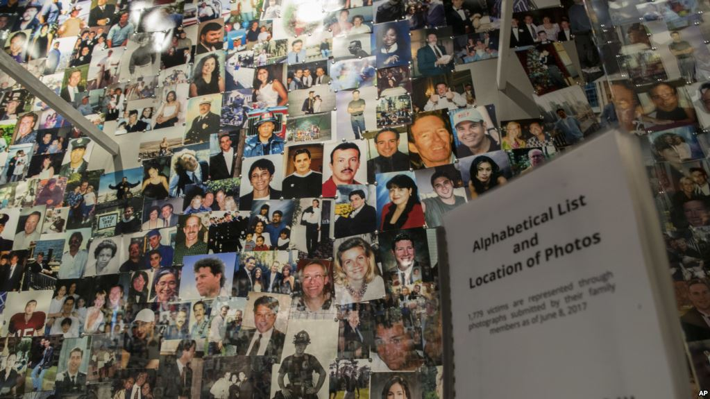 9-11 photos of victims