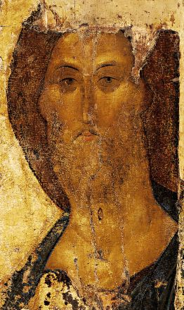 Christ the Redeemer by Andrei Rublev 1410