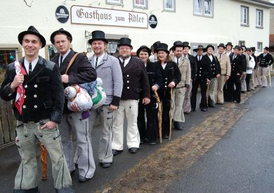 Journeymen and women of Bad Kissingen, Germany