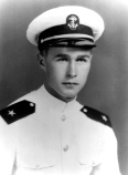 George H.W. Bush as a member of the U.S. Navy during World War II