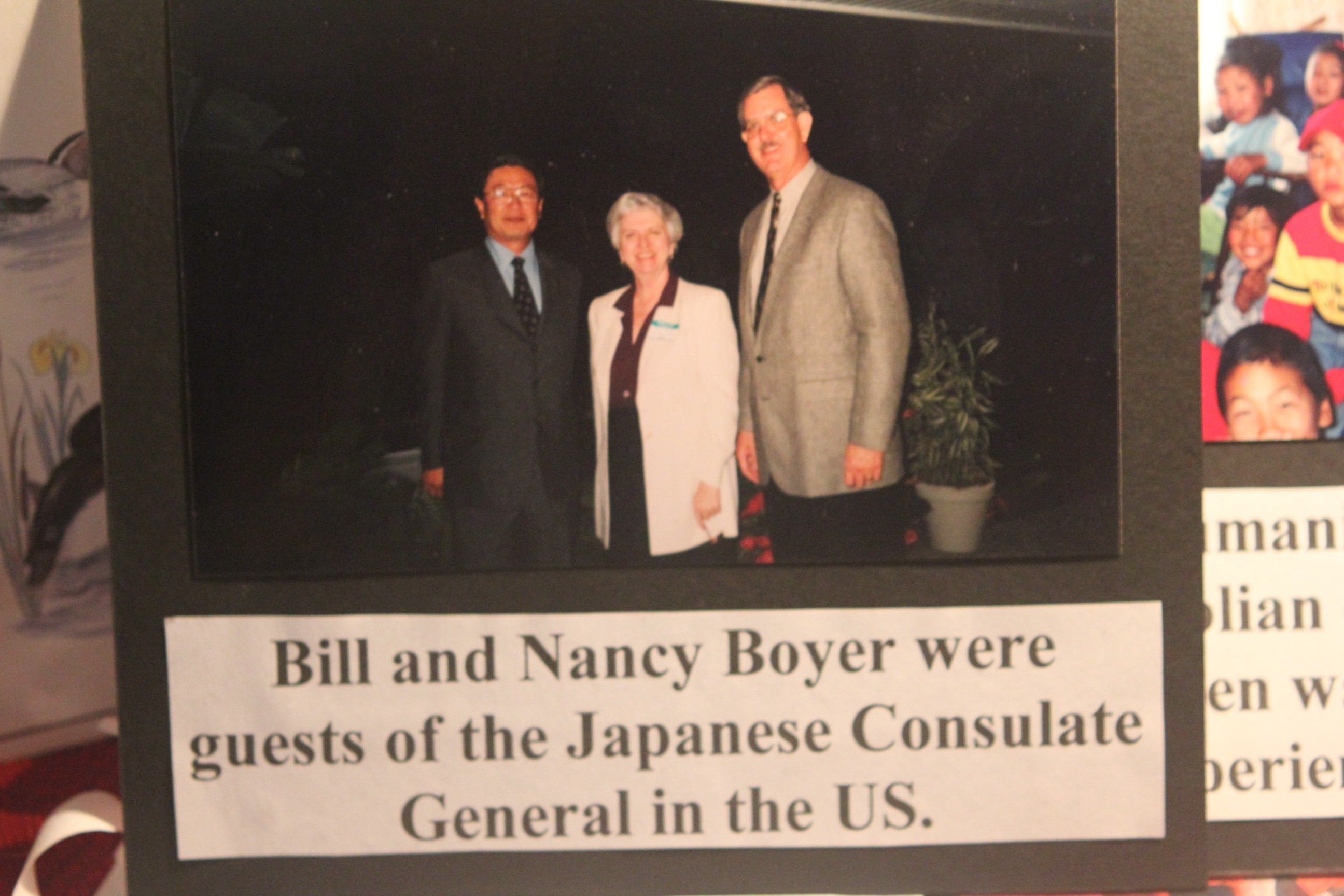 Nancy and Bill with Japanese Counselate General in Miami